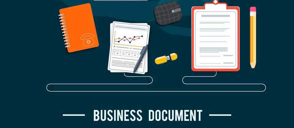 Business documents and project management articles